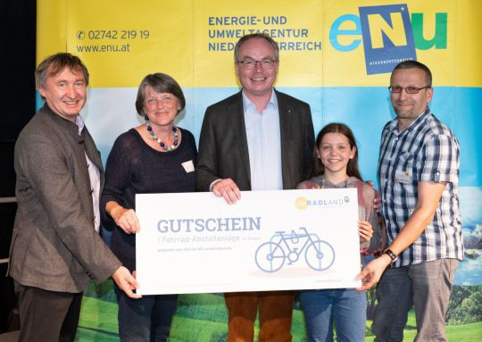 Gutschein Radabstellanlage